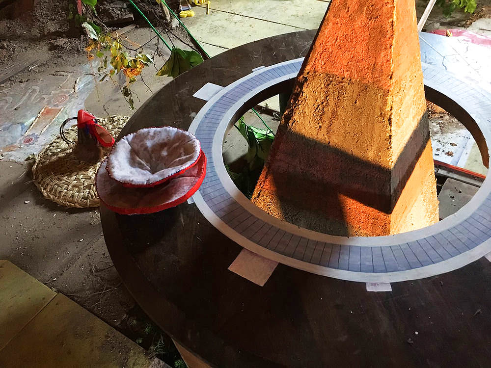ぬいぐるみの陶器